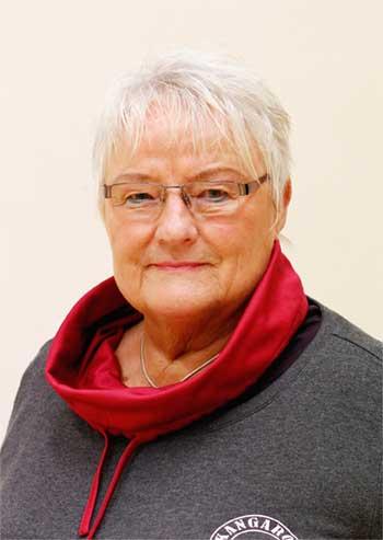 Marga Scharwei Abteilungsleiterin Gymnastik