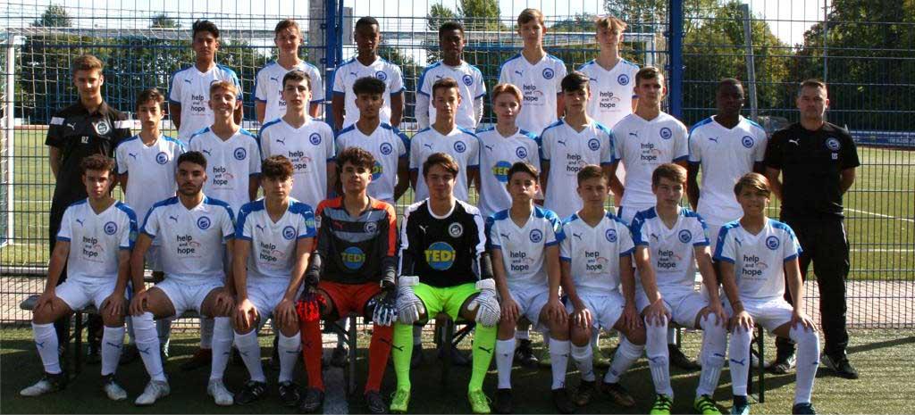 Mannschaftsbild der U16 Saison 2018 / 2019