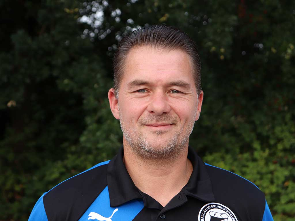 Denis Serocka - Trainer der U8 Mannschaft