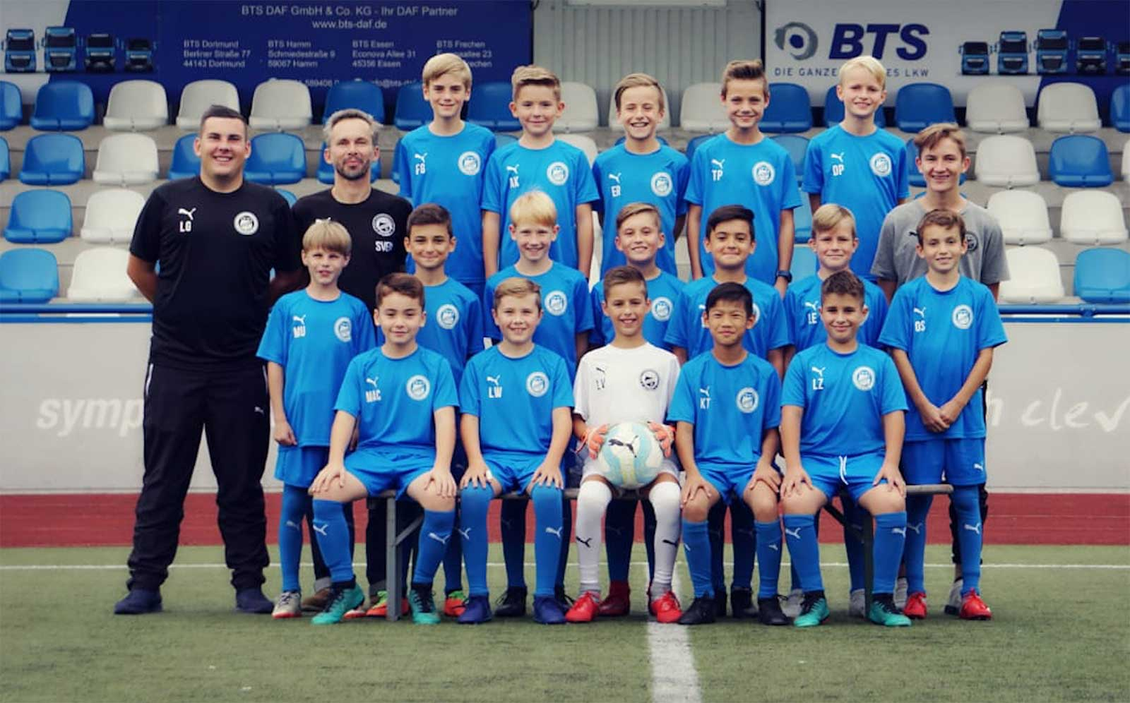 U11 - Jugendmannschaft des FC Brünninghausen