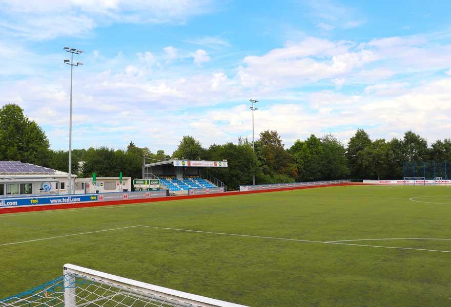 Fussballplatz des FC Brünninghausen - Gesamtansicht