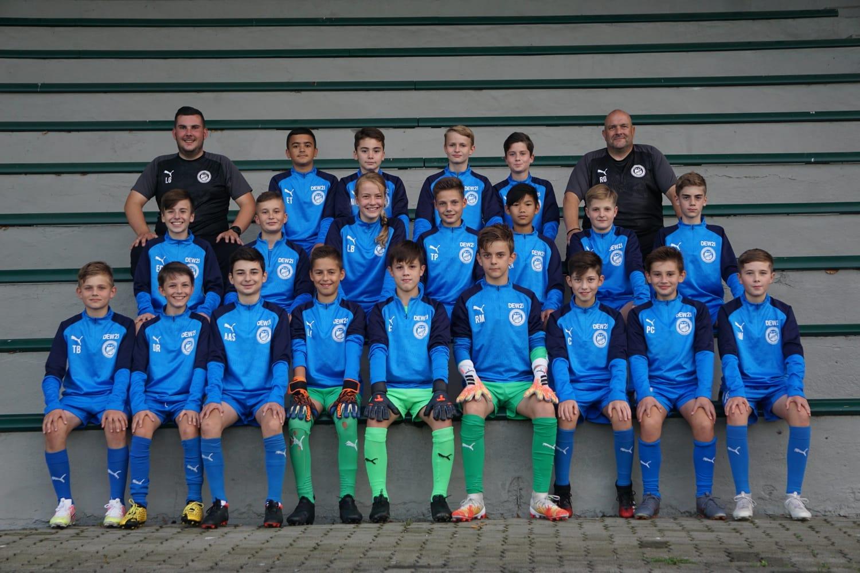 Mannschaftsfoto U13 2020/2021