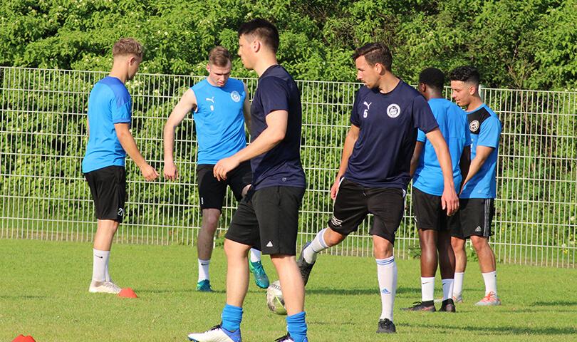 Trainingsauftakt FC Brünninghausen 2021