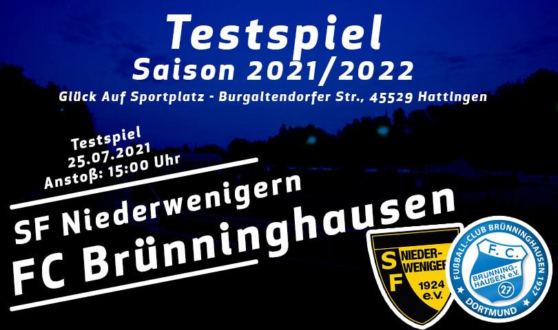 SF Niederwenigern - FC Brünninghausen