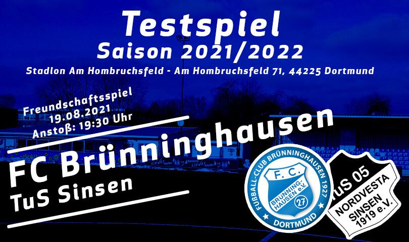 Vorbericht FC Brünninghausen - TuS Sinsen