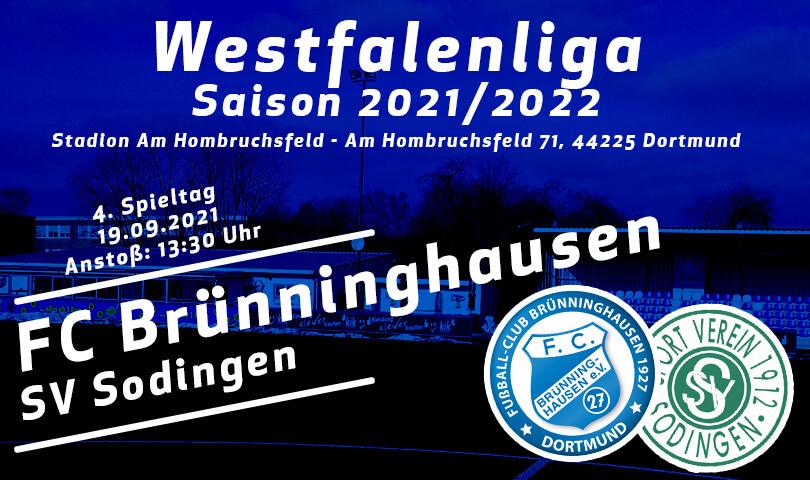 Vorbericht FC Brünninghausen - SV Sodingen