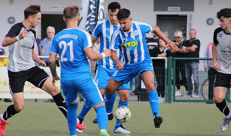 Spielbericht Westfalia Wickede - FC Brünninghausen