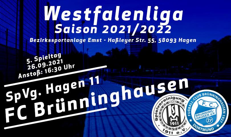 Vorbericht SpVg Hagen 11 - FC Brünninghausen