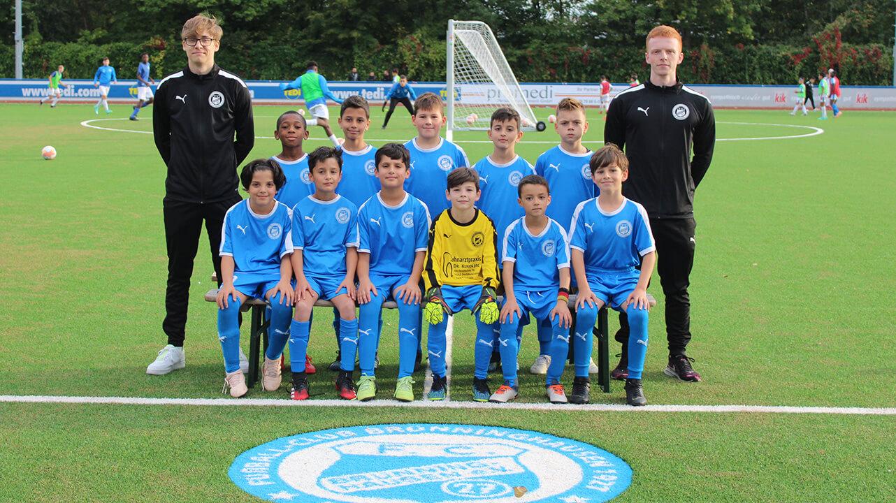 Jugendmannschaft U10 Saison 2018/19 des FC-Brünninghausen