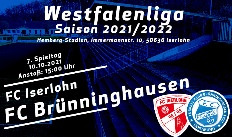Vorbericht FC Iserlohn - FC Brünninghausen
